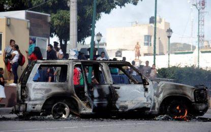 Queman vivos a dos presuntos secuestradores en Puebla (México)