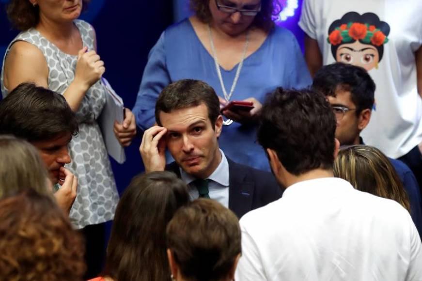 Pablo Casado (PP) será inhabilitado entre 3 años y 7 años si le procesan por el máster