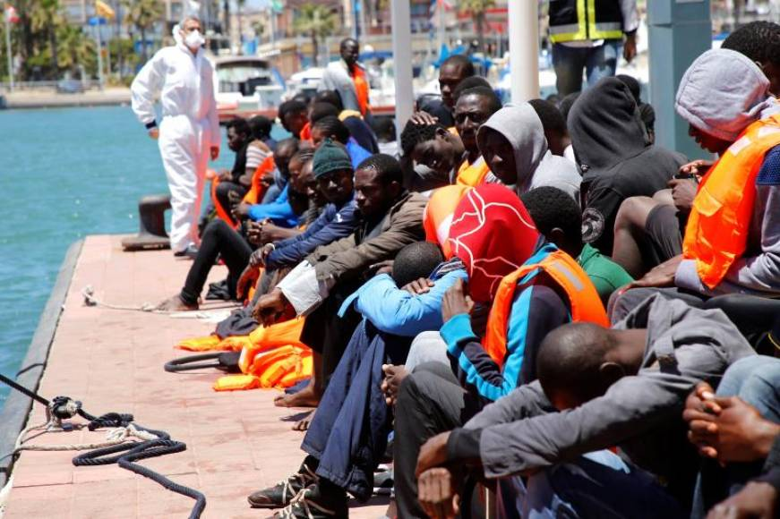 Aumentan un 40,8 % las entradas de inmigrantes a España por la valla de Melilla