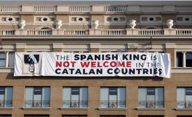 """Opazo: Los Mozos nos advierten que """"seremos detenidos"""" si tumbamos esta pancarta"""