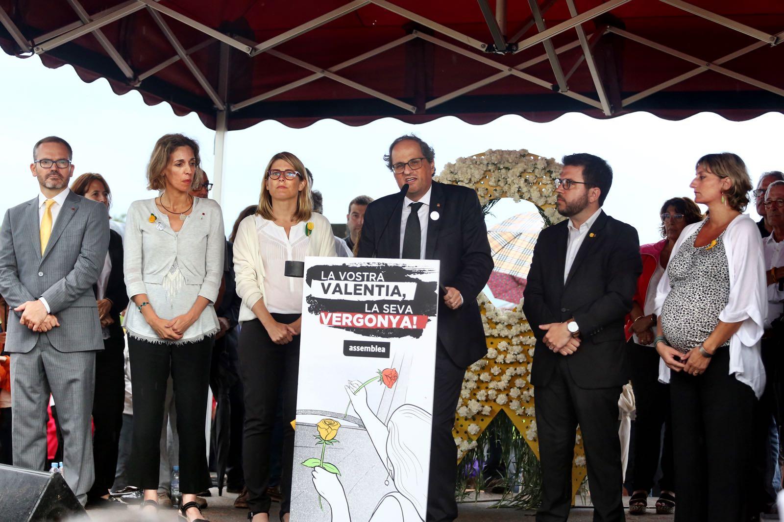 """Torra llama a """"atacar"""" al pueblo español """"hasta que nuestra Cataluña sea libre"""""""