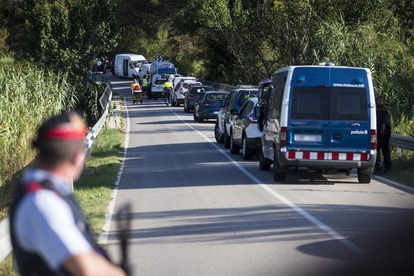 """Rebelión en los Mozos con """"cortes de carreteras en Cataluña"""", """"esto no es ninguna broma"""""""