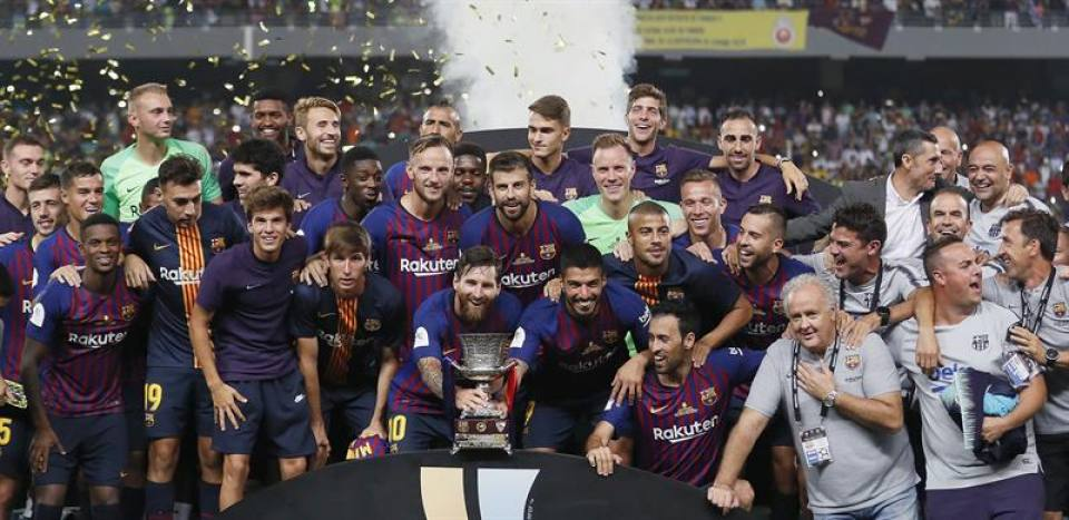FC Barcelona gana la Supercopa de España en Marruecos