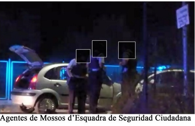 """La resistencia española en Tarragona denuncia """"acoso de los Mozos independnetistas"""""""