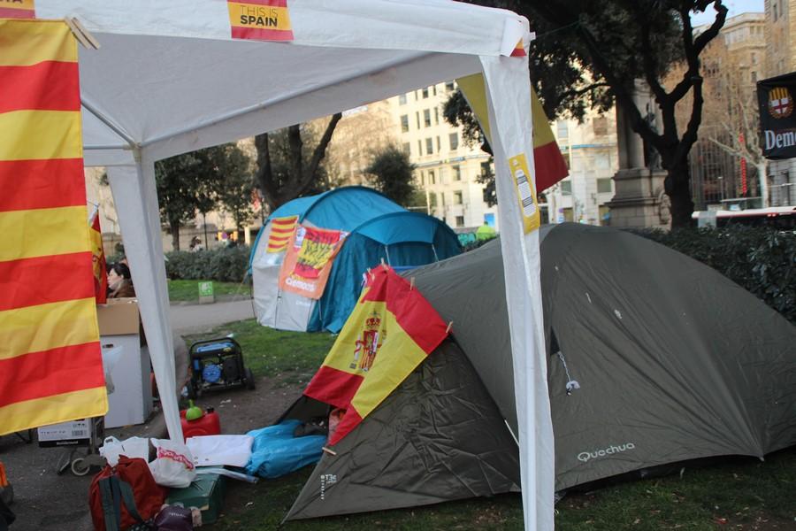 """La resistencia convoca """"acampada"""" el 28-S en Pl. San Jaime para la """"libertad"""" de Jusapol"""