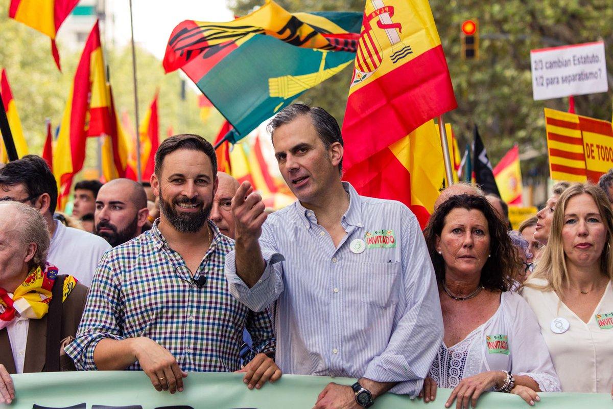 """VOX pide """"suspender la autonomía, ilegalizar partidos separatistas y disolver a los Mozos"""""""