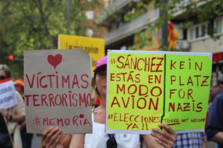 Opazo convoca el 20-O en Valencia bajo «No a Pactos ni con terroristas ni con separatistas»