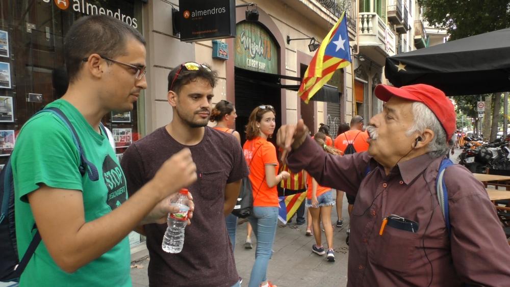 Un colombiano tumba la teoria independentista en menos de 5 minutos
