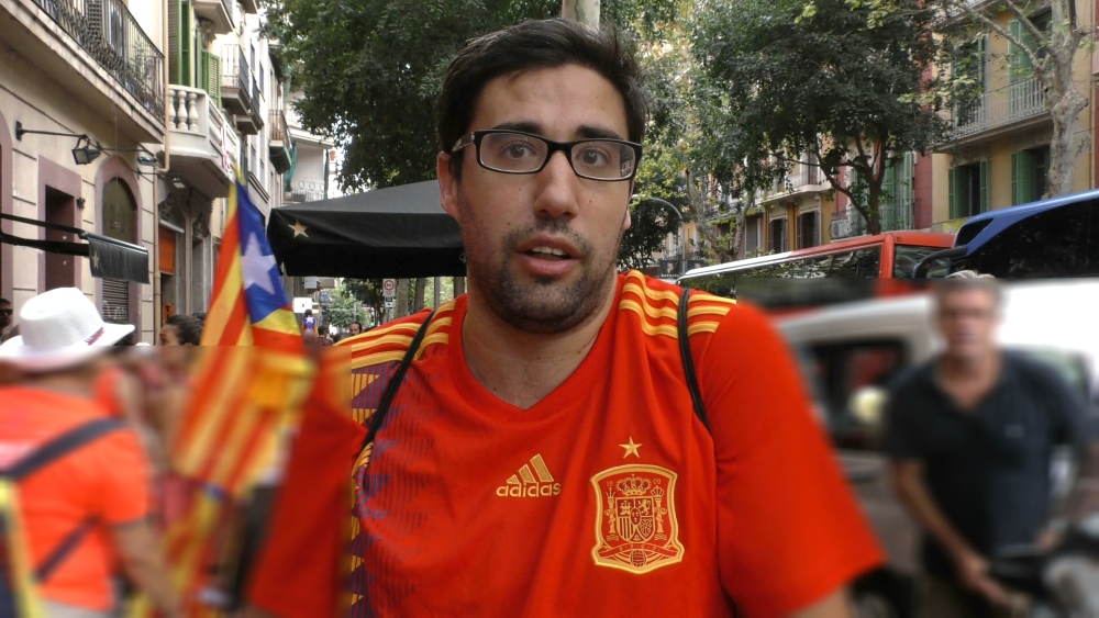 Desafía al millón de independentistas con camiseta de la Selección en la 'Diada'