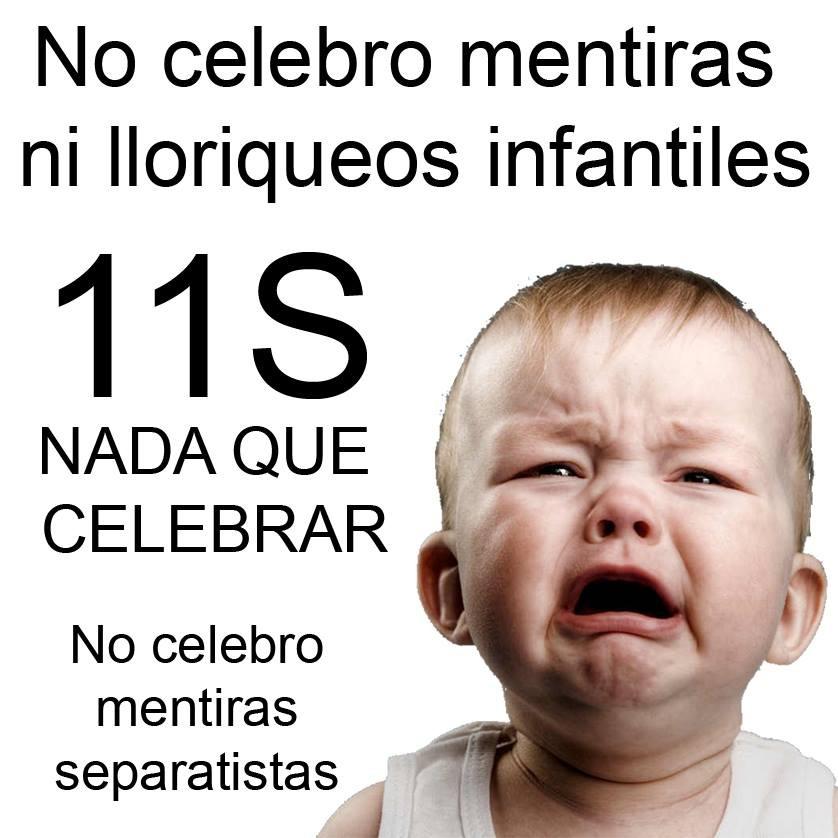 11-S, Día del odio a España y de la raza superior catalana, no tengo nada que celebrar