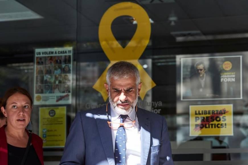 Ciudadanos exige a la Consejería de Interior la retirada de lazos amarillos del edificio
