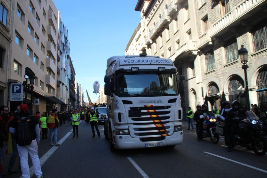 Policía Nacional escribe carta a los Mozos a vísperas del 29-S de Jusapol en Barcelona