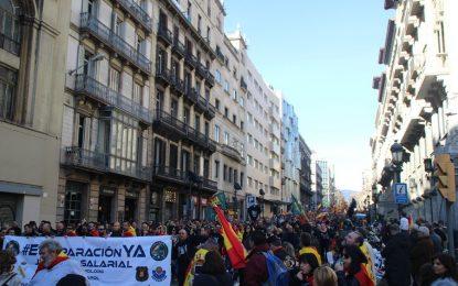 El 29-S de Jusapol saldrá desde «Pl San Jaime de Barcelona en apoyo» a héroes del 1-O