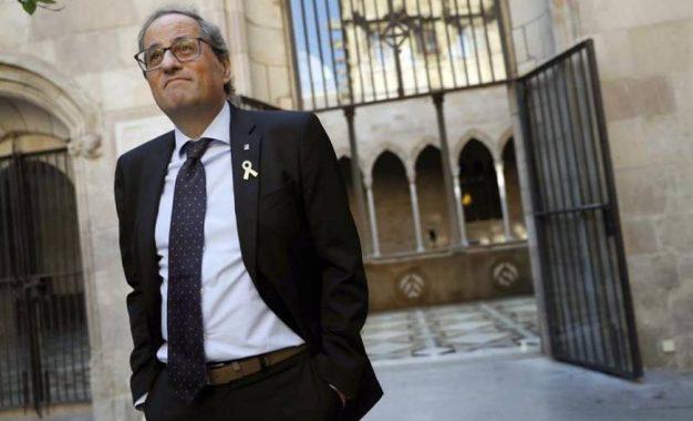 """Torra: """"Cataluña no está dividida"""", queremos la independencia como """"solución política"""""""