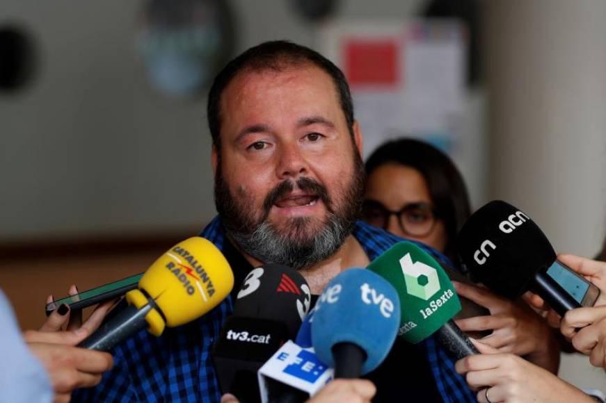 """Nuevo portavoz de Ada Colau: Los presos independentistas """"no han cometido ningún delito"""""""