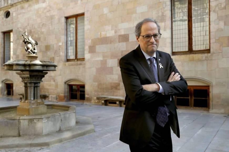 Torra exige la sentencia del 'Caso Procés' después municipales de 2019