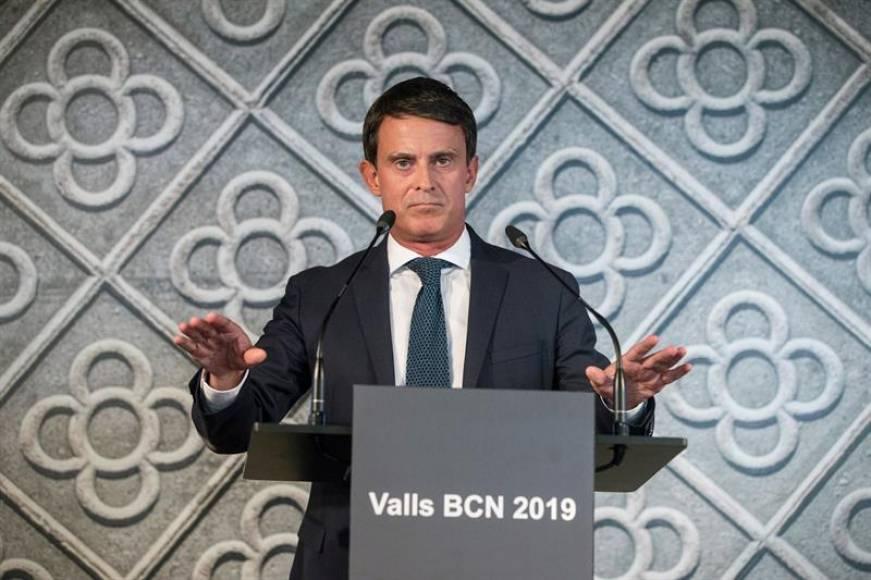 """Valls rechaza la oferta de Ciudadanos y se presenta para """"ser alcalde de Barcelona"""""""