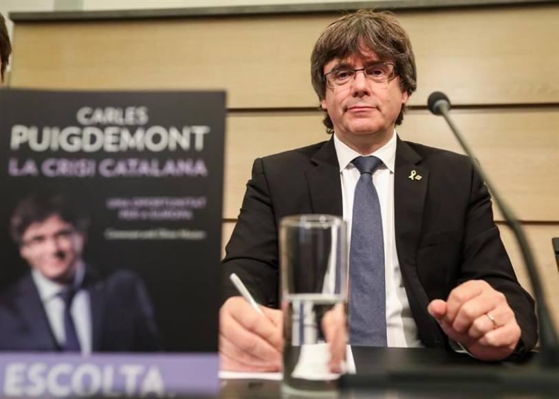 """Puigdemont, muy """"decepcionado"""" porque """"Europea no apoya"""" al independentismo"""