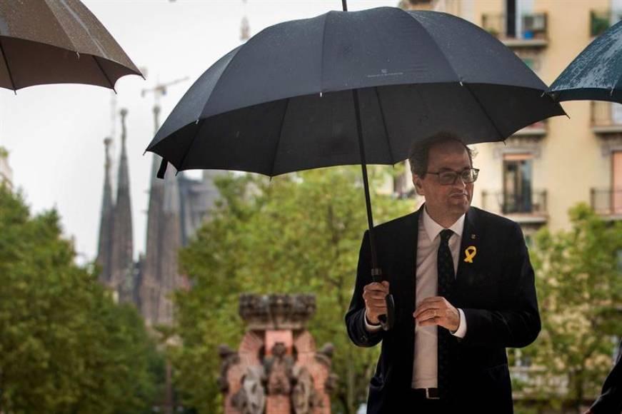 """Torra: """"Cataluña no necesita tantos Policías antidisturbios"""" y Guardia Civil"""