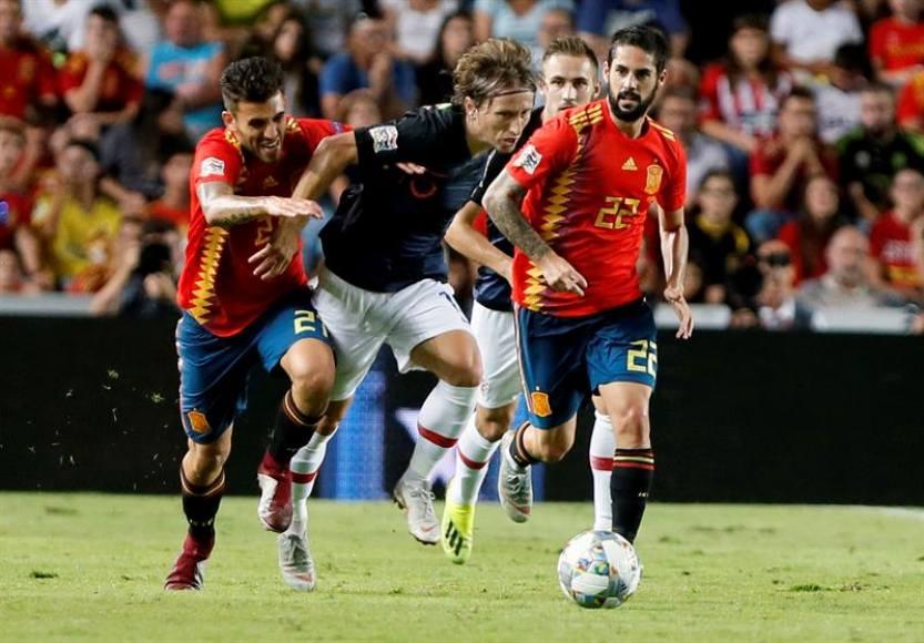 España destroza a Croacia en Elche (6-0)