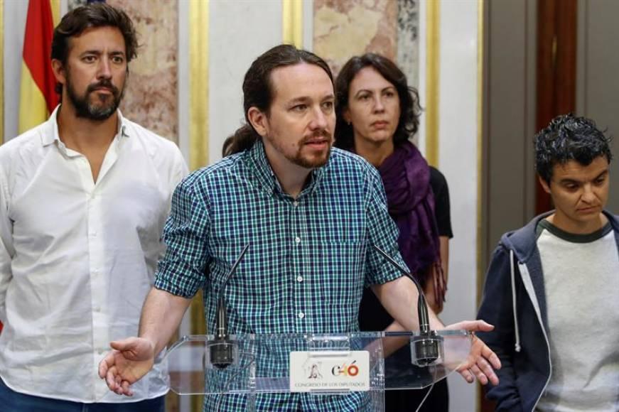 Podemos exige bajar el precio de alquileres, luz y subir el salario mínimo a mil euros