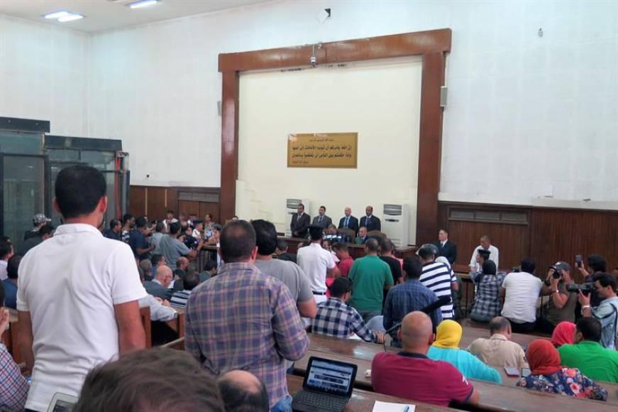 Egipto confirma la condena a muerte para 75 islamista por la matanza de 2013