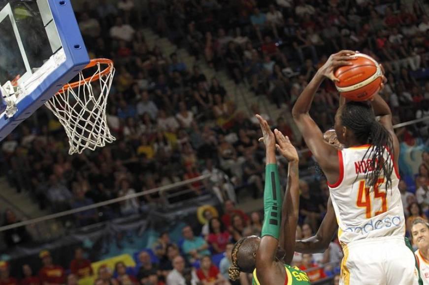 Las españolas llevan a España a los cuartos de final del Mundial de baloncesto