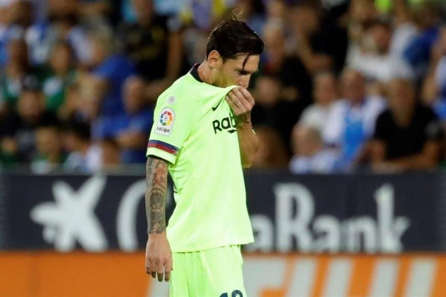 FC Barcelona cosecha su primera derrota ante Leganés (2-1)