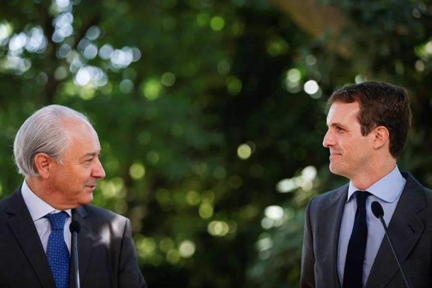 """Pablo Casado: """"No puedo renunciar al título porque no tengo título, no tengo tesis ni tesina"""""""