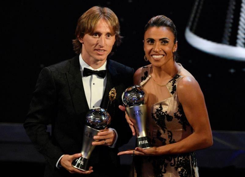 Luka Modric, «The Best», el mejor jugador del mundo para la FIFA