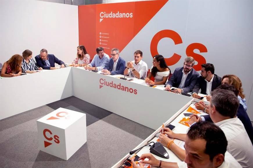 Ciudadanos rompe en trocitos su pacto con el PSOE en Andalucía