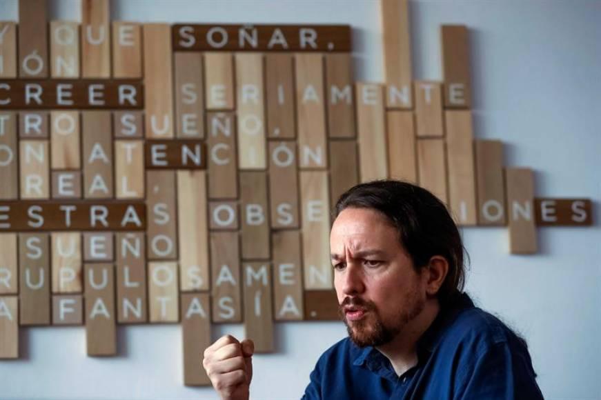 "Iglesias: ""Nunca me he planteado"" dimitir, mentira ""el problema de Podemos"" no soy yo"