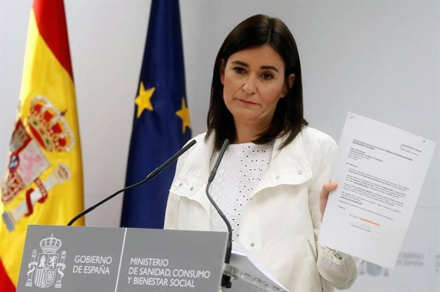 """La ministra de Sánchez con un máster dudoso, Podemos exige su """"dimisión"""""""
