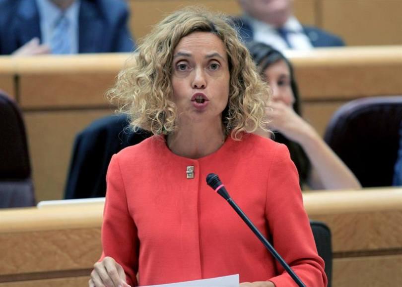 """La ministra Batet: PSOE y Sánchez """"solos"""" no pueden solucionar la crisis en Cataluña"""