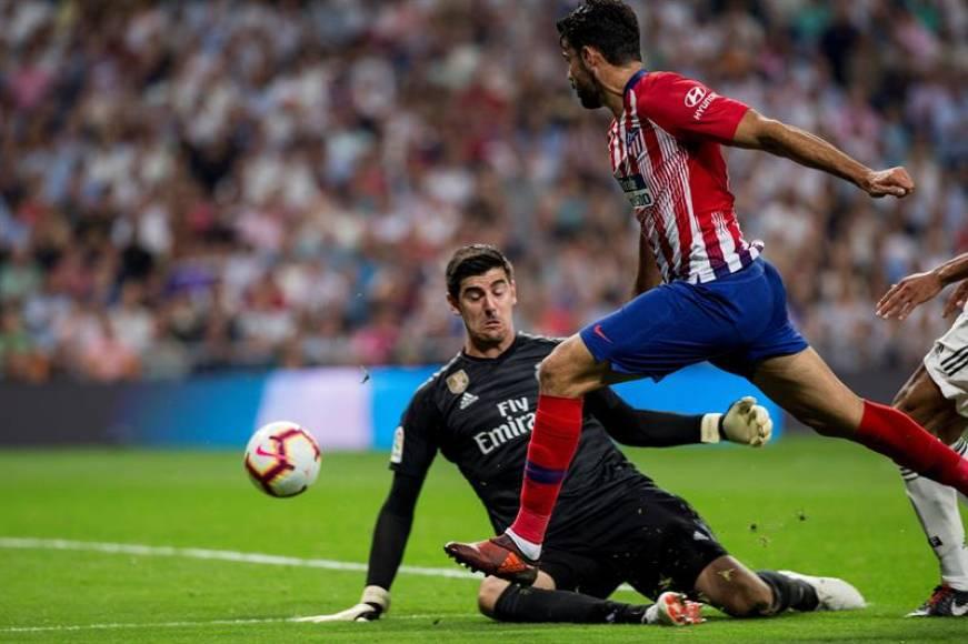 El duelo entre Madrid y Atlético, un derbi de porteros y sin pegada (0-0)