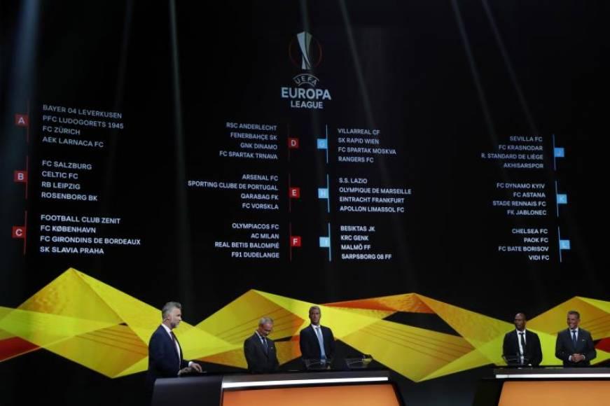 Los grupos de la liga de campeones 2018-2019