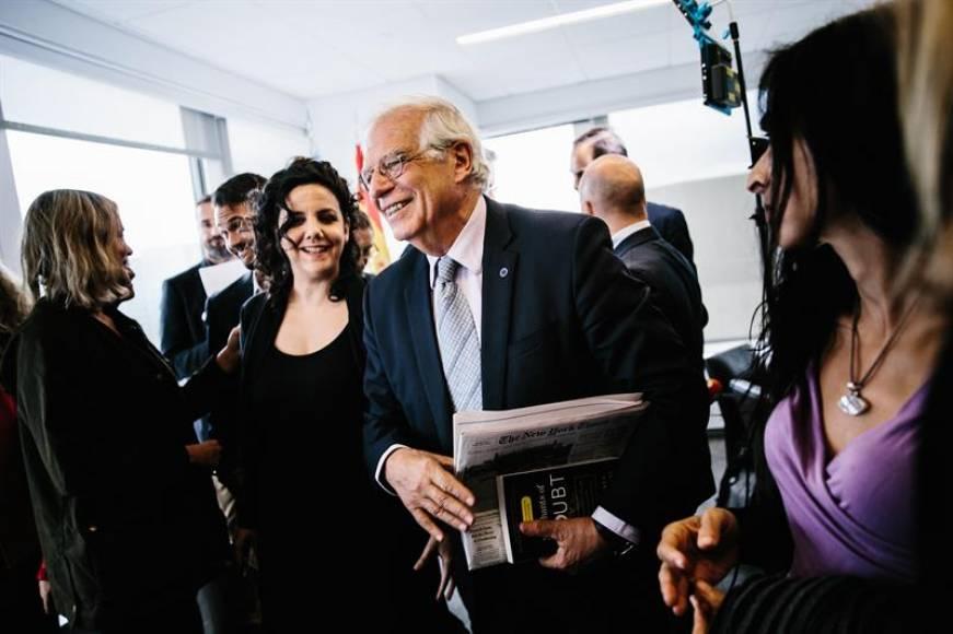 """Borrell dice que quiere """"un Juicio"""" rápido para los presos independentistas"""