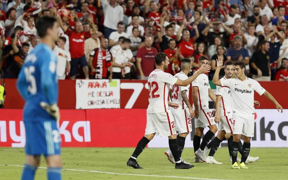El Sevilla fulmina al Real Madrid (3-0)