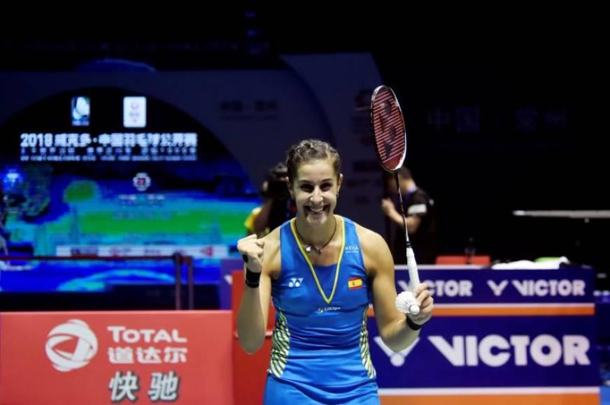 La española Carolina Marín gana el Abierto de China