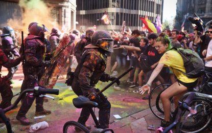 """CUP exige la """"dimisión"""" de Interior y tacha de """"violenta"""" la actuación de los Mozos el 29-S"""