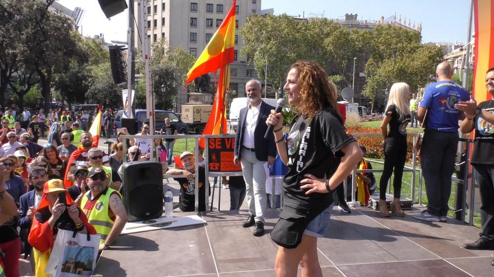 "Vila: ""Soy catalana y agente de la Guardia Civil, pido"" al secesionismo ""respeto a mi familia"""