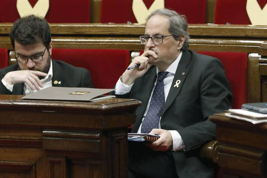 El 'Parlament' reconoce a sus CDR y rechaza toda resolución contra Torra y sus CDR