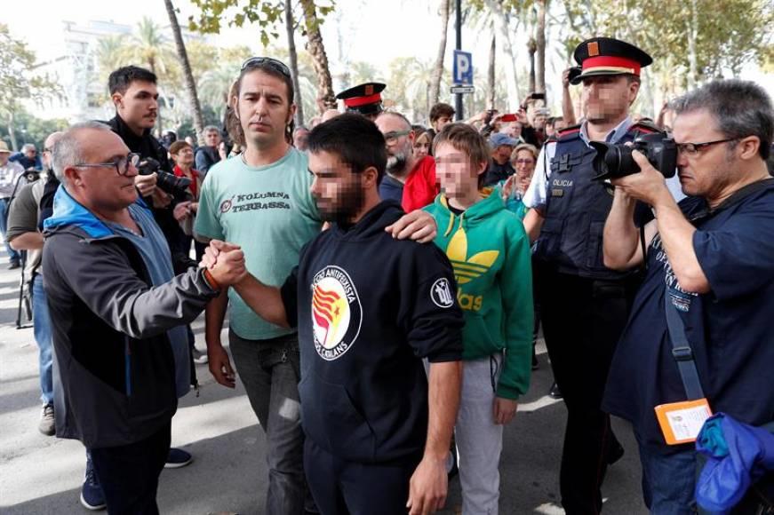 Detenidos los tres independentistas huidos de la Justicia