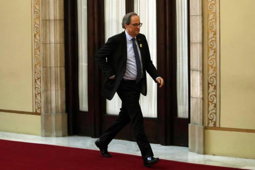 Torra lleva al Tribunal Supremo ante la Fiscalía por el auto del pago de impuesto de Hipotecas