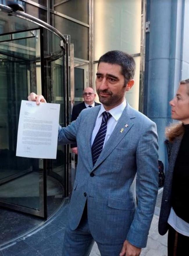 """El consejero Jordi Puigneró, responsable de la web del 1-O """"a sabiendas de su ilegalidad"""""""