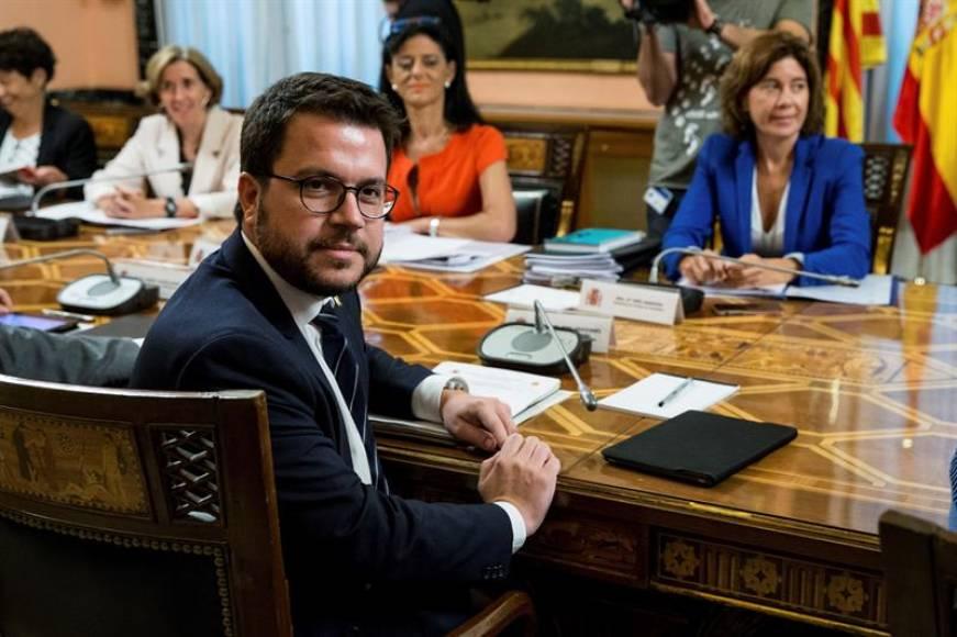 El vicepresidente de Torra participó en el pulso independnetista al Estado (1-O)