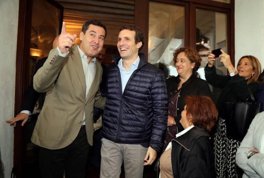 """Moreno: El PSOE es el """"dueño del cortijo"""" junto a Cs y Podemos venden """"fake encuestas"""""""