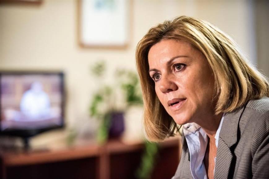 """El PP no ve delito en los nuevos audios de Cospedal, aunque sean """"morbosos"""""""