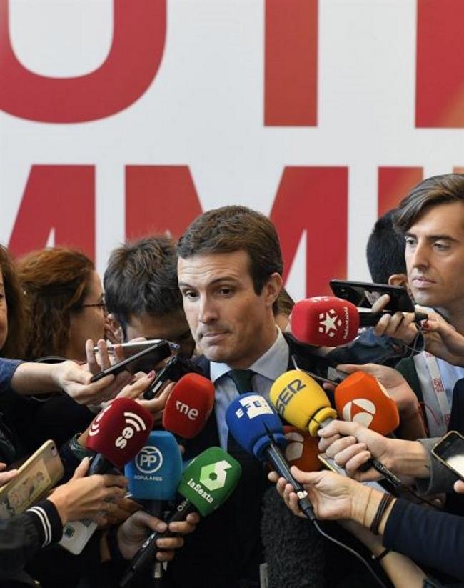 El PP exige ilegalizar a CUP y aplicar un 155 con Gobierno provisional en Cataluña