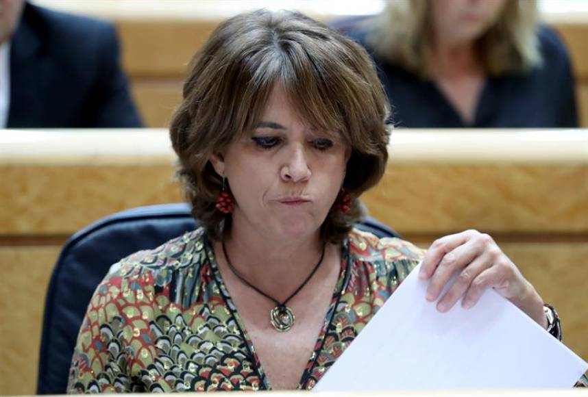 El Congreso exige la dimisión de la ministra de Justicia Dolores Delgado